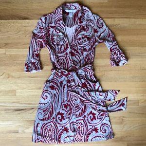 DVF Silk Wrap Dress RARE Style